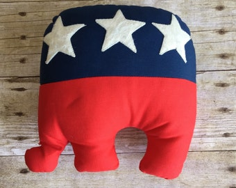 Vintage Republican Elephant Plush MARKED DOWN 20%