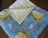 Soft Baby Blanket- Double sided Flannel Baby Blanket- Baby/Toddler Blanket- Recieving Blanket