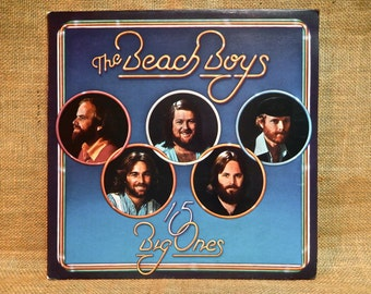 The Beach Boys - 15 Big Ones - 1976 Vintage Vinyl Gatefold Record Album