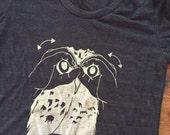 UNISEX owl american sign language  ASL  shirt