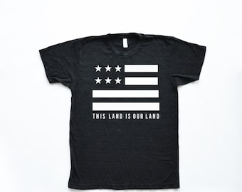 This Land is Our Land Adult Tee