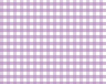 Gingham Lavender by Riley Blake