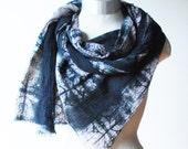 hand printed scarf, cotton shawl, screen printed scarf, boho fashion scarves, urban fashion, unisex scarves