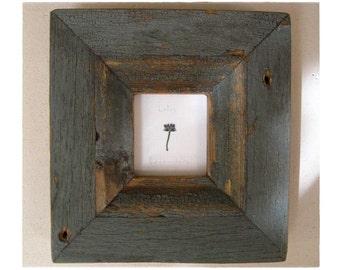Lotus Lavender .||. framed in weathered wood