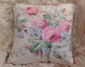 Vintage RALPH LAUREN pillow COVER Gorgeous Shabby colors