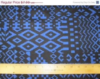 Tribal Ikat Cotton Lycra Knit FAbric