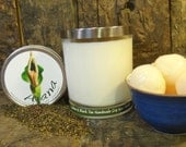Lychee & Black Tea Handmade Soy Wax Candle - Flat Rate Shipping Now Available!