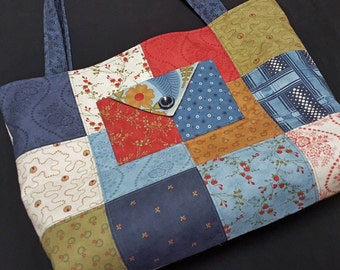 Charm Pack Purse or Small Tote-Americana