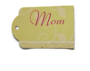 MOM Gift Tag Sets in Yellow