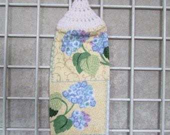 Spring flowers Button-on Hanging Towel