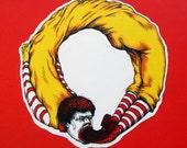 Ouro McBoros Sticker