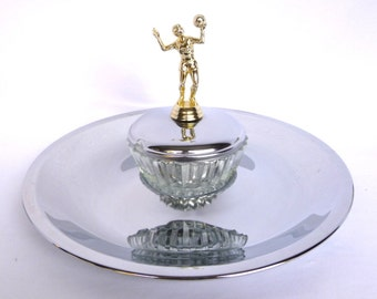UPCYCLED VOLLEYBALL TROPHY Party Dish