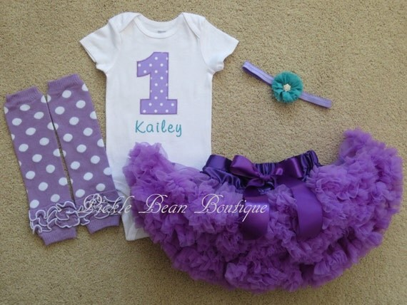 Baby Girl Purple Outfits 37