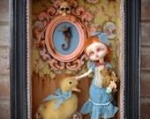 "OOAK custom doll ""The yellow room"""