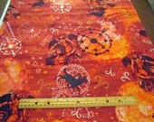 New Dawn Zodiac Sign Aries premium cotton fabric Fabri-Quilt - astrology