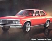 1978 Nova Custom 4 Door Sedan PC