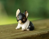 This Little Piggy - Small Pig Figurine - Adorable Piglet - Little Pig Piggy - Ceramic Pig - Lil piggy