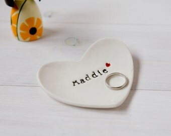 Personalised Dish, Personalised Confirmation Gift, Mother of the Groom Gift, jewelry catcher - comes with gift box
