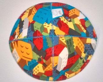 Building Blocks Saucer Kippah/Yarmulke Kids Kippot
