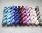 200gr (10 hanks x 20 gr)-High quality 100% LINEN yarn-Pure Linen Flax For All Purpose Use- Weaving, Crocheting, Knitting