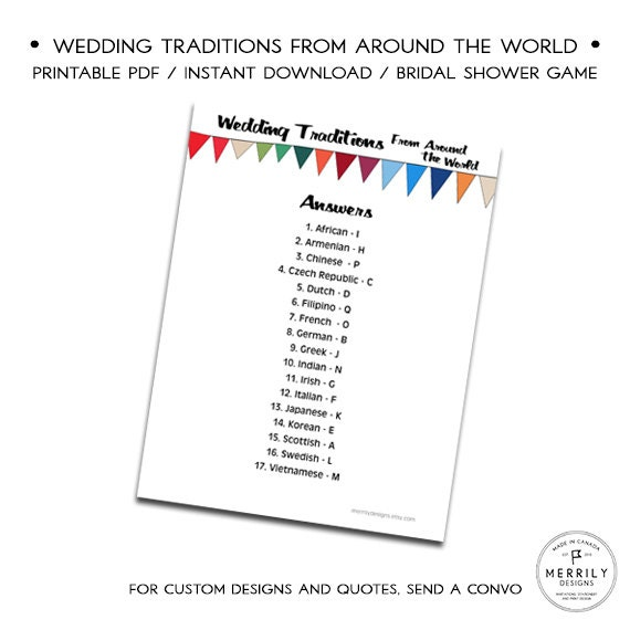 Wedding Traditions From Around The World Bridal By