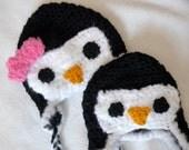 Baby Penguin Hat - Boy and Girl Penguin Animal Hats