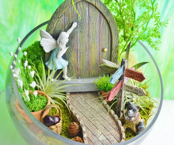 how to make a fairy door out of paper