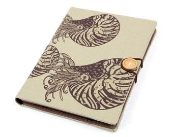 Nautilus / iPad mini case, Kindle paperwhite cover, iPad mini cover, kindle cover, Kindle case, voyage, Kobo, Sony xperia Z3, case, handmade