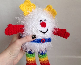 Rainbow Brite Doll / Sprite / Amigurumi Plush PDF Pattern