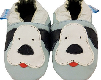 Genuine leather and suede very cute baby shoes