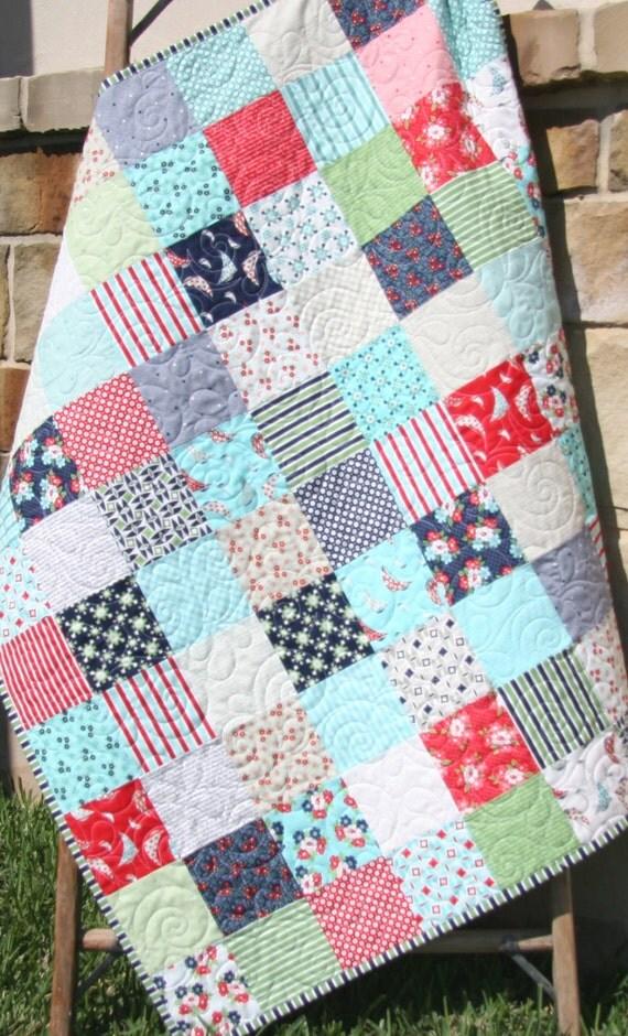 Do it yourself moda ideas de disenos ciboney daysail quilt kit bonnie and camille moda fabrics green do it yourself moda solutioingenieria Images