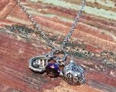 LSU Baseball necklace