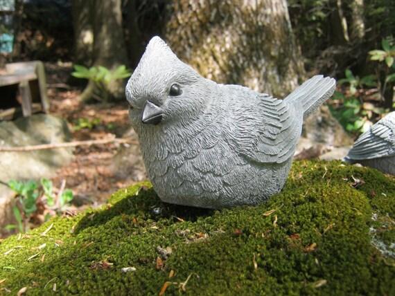 Bird Statue, Bird Sculpture Garden Decor, Concrete Bird Figure, Cement  Bird, Garden Bird, Cast Stone Garden Statues By Westwind, Two Birds.