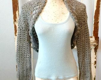 Quick Crochet Sweater PDF Crochet Pattern instant download Women Teens Bolero Shrug XS-XXL Cardigan Brides Weddings Prom PP114