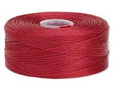 C-Lon Size #D Nylon Beading Thread - Red