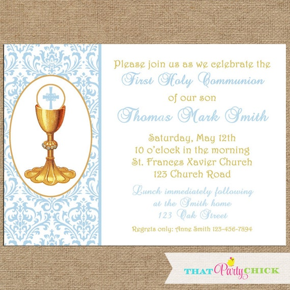 Agile image for first communion invitations free printable
