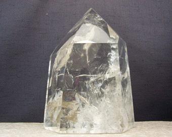Polished Quartz Crystal