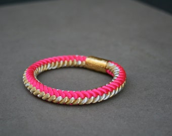 Obijime soft bangle bracelet