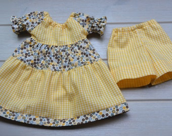 "Beautiful dress and pants for 18 ""  - 19"" Waldorf doll"