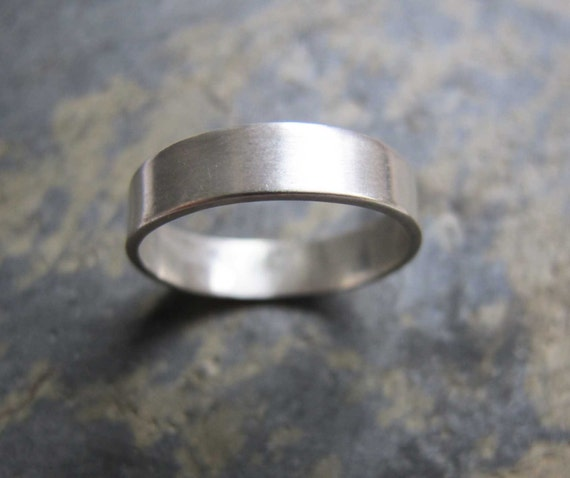 s thick silver band ring s thick wedding
