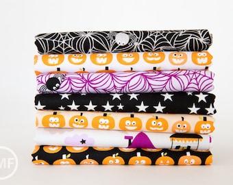 Halloween Magic Half Yard Bundle , 7 Pieces, Stephanie Hunt, Bella Blvd, Riley Blake Designs, 100% Cotton Fabric, C4610