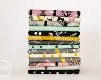 Spellbound Complete Half Yard Bundle, 14 Pieces, Full Collection, Cotton+Steel, RJR Fabrics, 100% Cotton Fabric