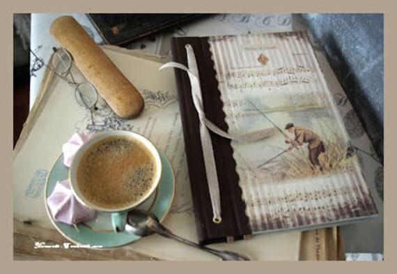 Saint valentin Carnet de pêche  outdoor brochet carpe truite sandre lamproie breme cadeau pour pêcheurs