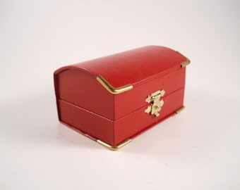 Bright Red Trinket box Trunk