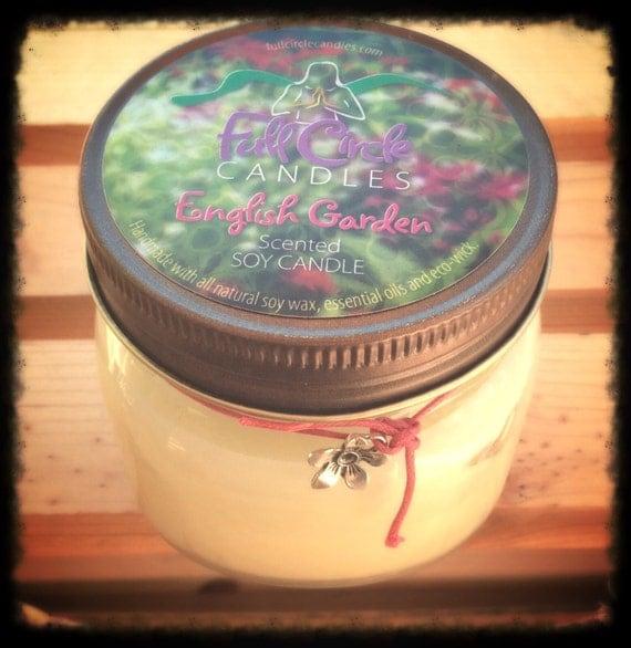 English Garden Soy Candle