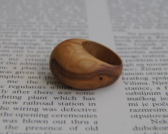 Wood Ring Size 10 1/4 - Olive Wood Ring