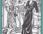 FW233 - Folkwear #233, 1940's Glamour Girl Dress Sewing Pattern