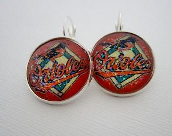 Baltimore Orioles  Star Girl Earrings