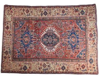 4.5x6.5 Antique Karaja Rug