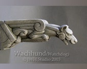 Wachhund (Watchdog) gargoyle by Jay W. Hungate